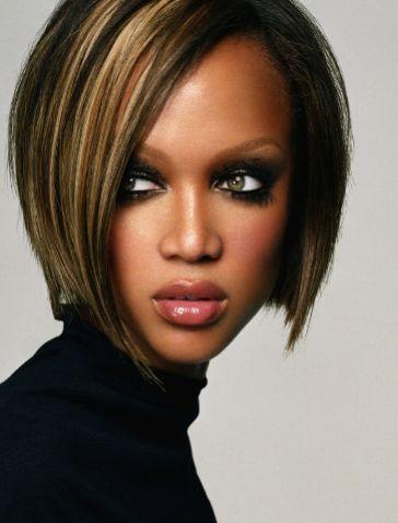 Tyra Banks Bob Hairtsyle Hair Pinterest Hair Hair Styles And