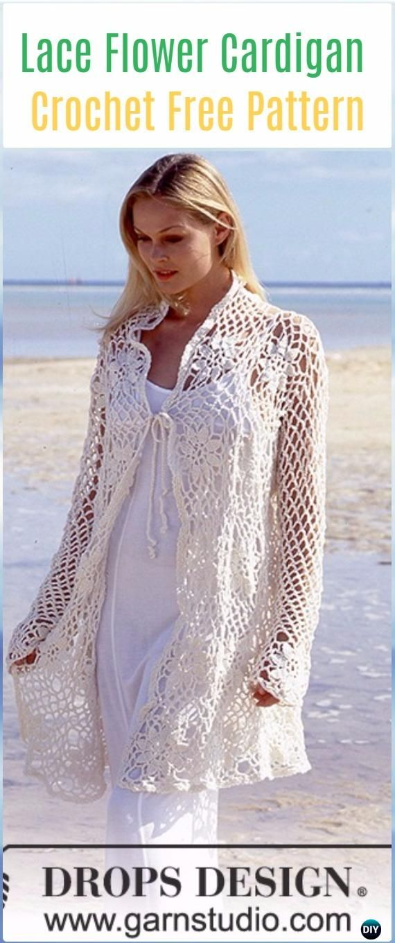 Crochet Beach Cover Up Free Patterns For Women Crochet Free
