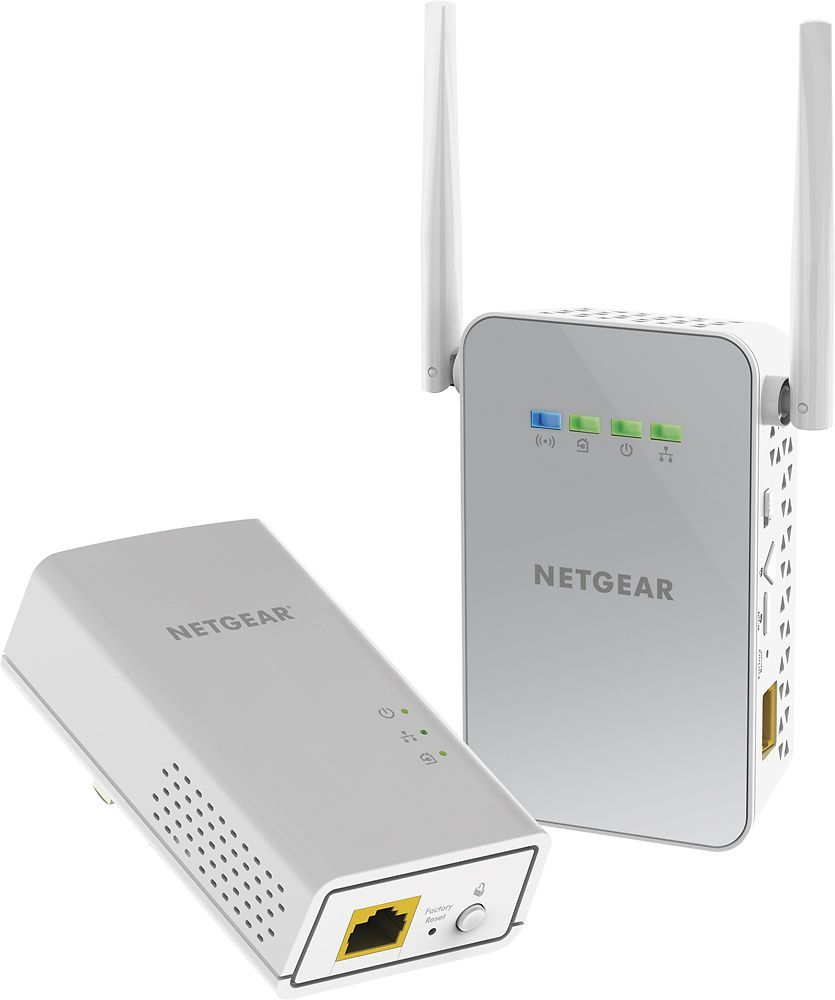 NETGEAR - Powerline AC1000 Wi-Fi Access Point and Adapter