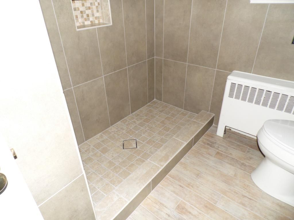 Ideas Small Bathroom Flooring Floor Tile for Curtains Designs Grey