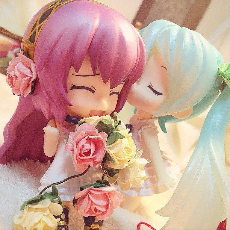 "nendoroidnews: "" By @shiroro69 #VOCALOID #ボーカロイド #初音ミク #Hatsune #Miku Megurine…"