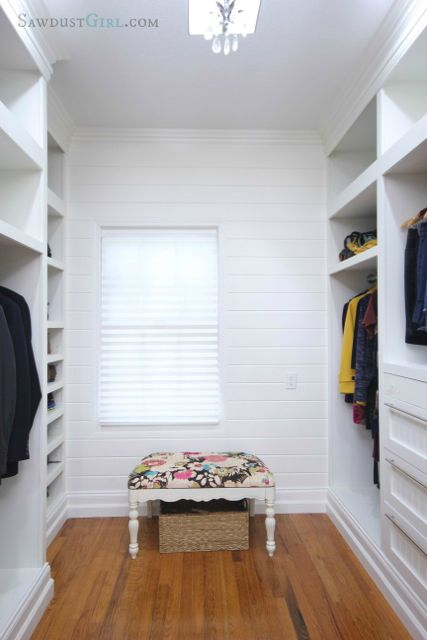 Master Closet Plank Wall Plank Walls Outdoor Furniture Woodworking Plans