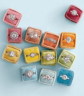 #diamonds #rings #weddingrings #marthastewartweddings