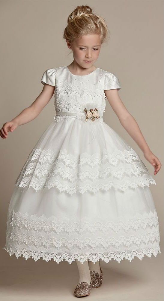 8db46a3de LOVE! Gorgeous ivory dress by Romano Princess for flower girls with ...
