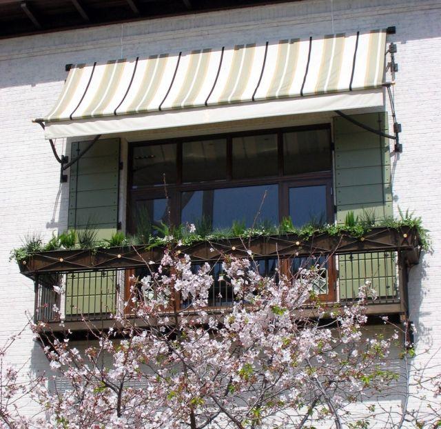 Houzz Spring Landscaping Trends Study: Klemmmarkise Balkon Klein Geländer Pflanzen