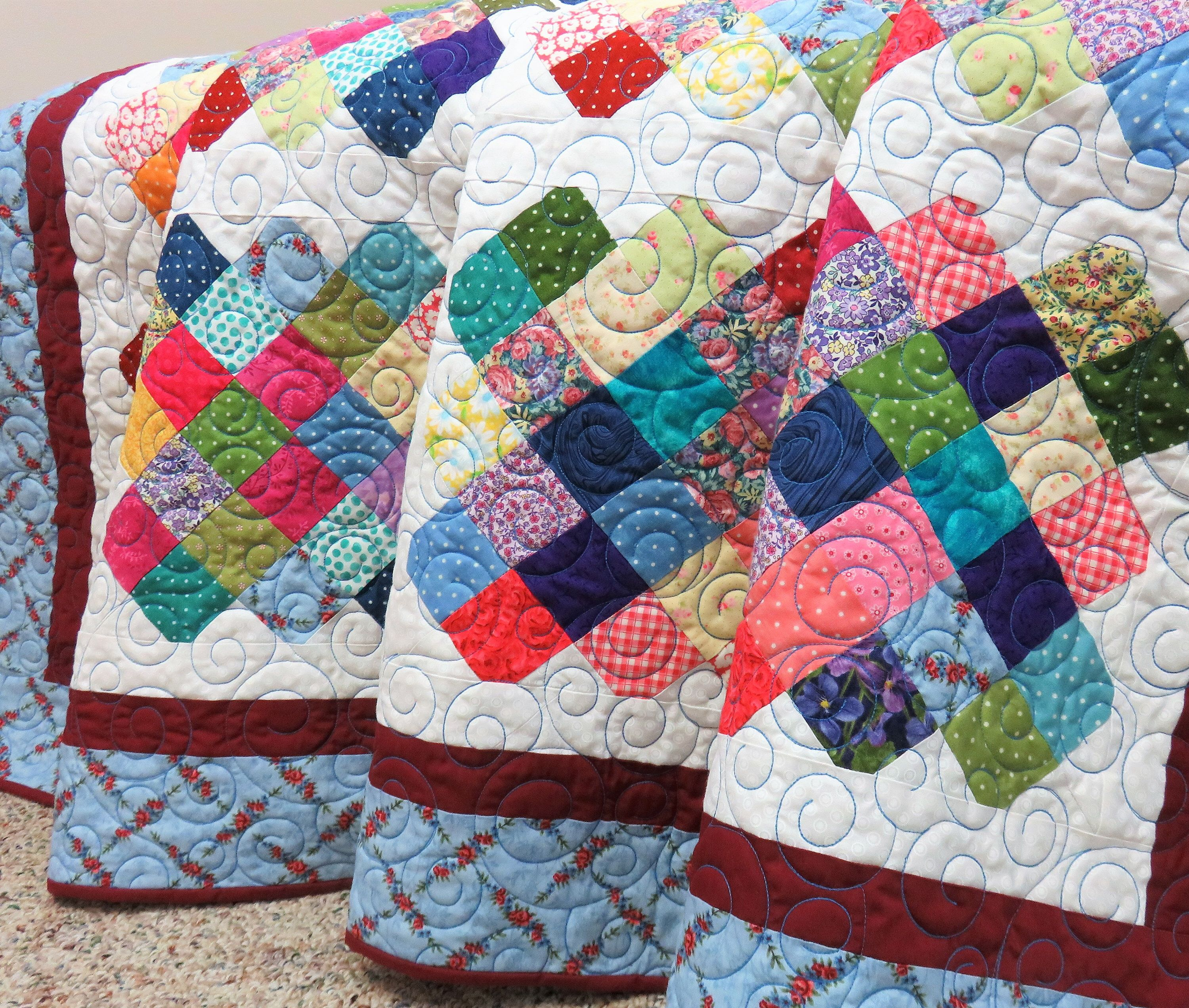 Handmade Quilt For Sale Twin Size Quilt Full Size Coverlet Double Quilt Queen Coverlet Large Blanket Throw Quilt Lap Blanket Floral In 2020 Handmade Quilts For Sale Twin Quilt Size Handmade
