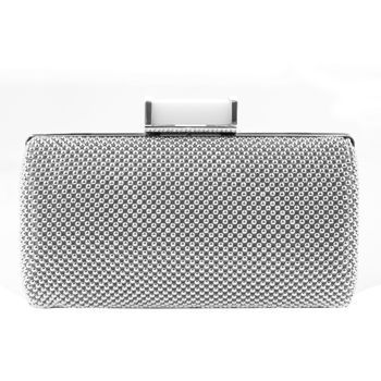 2bfa13d66ef8 Jessica McClintock Silver Elegant Mesh Clutch - also sold in black at Costco.  I bought the black.  19.99