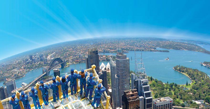 Sydney vista dall'alto...da sogno!