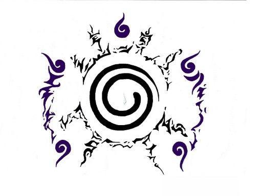 Kyūbi no Yōko (Jpn: Nine-tailed Fox) Stomach Seal | Naruto | Naruto ...