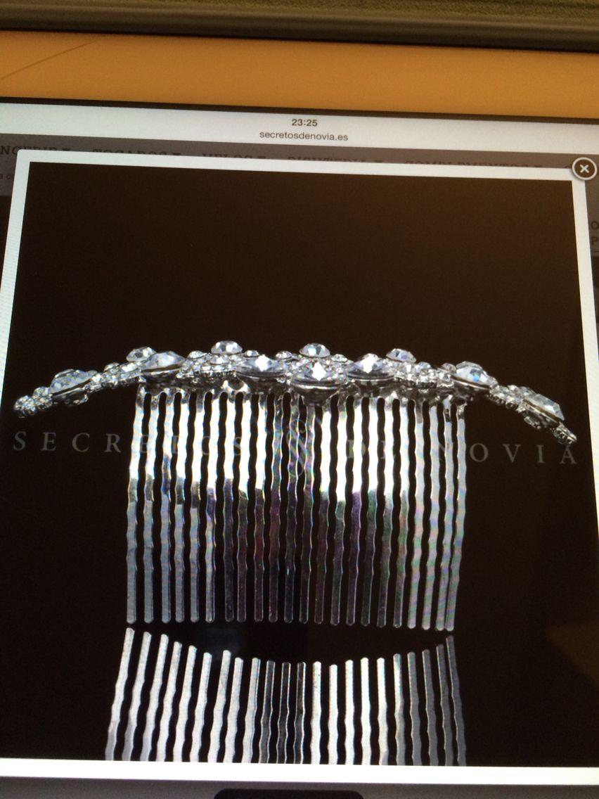 537e0491 Secretos de novia | Wedding hair | Novios