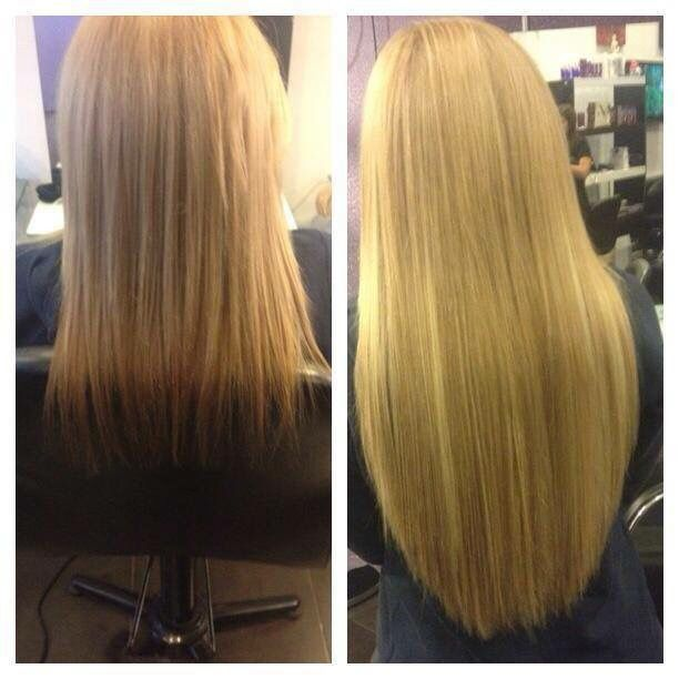 Hair Extensions Before And After Marielle Calleja Prive
