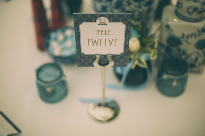 Pantone's Lapis Blue | Wedding Table Number ideas | fabmood.com #wedding #pantone2017 #lapisblue