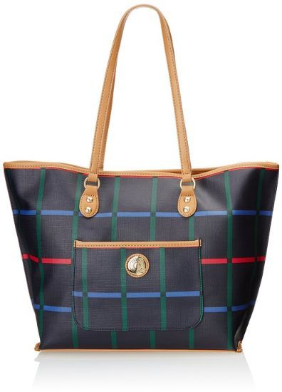 Anafa Tommy Hilfiger All In One Tatters Shopper Shoulder Bag Navy Multi One Size Price Review And Buy In Saudi A Tommy Hilfiger Handbags Shoulder Bag Bags