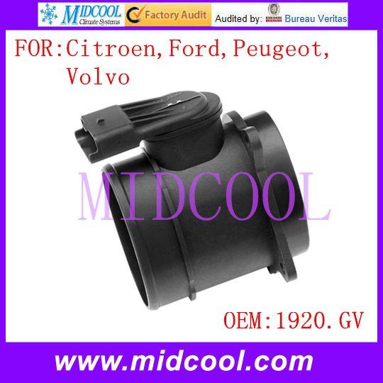 New Mass Air Flow Sensor Use Oe No 1920gv 9650010780 3m5a12b579bb 3m5a12b579ba 1232096 For Citroen Ford Peugeot Volvo Volvo Peugeot Citroen