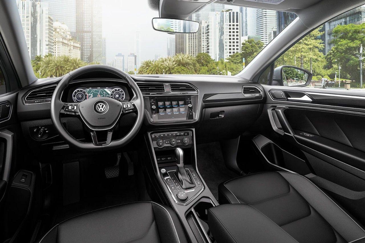 Tiguan Sel Premium With 4motion Shown In Titan Black Vienna Leather Volkswagen Car Volkswagen Tiguan R