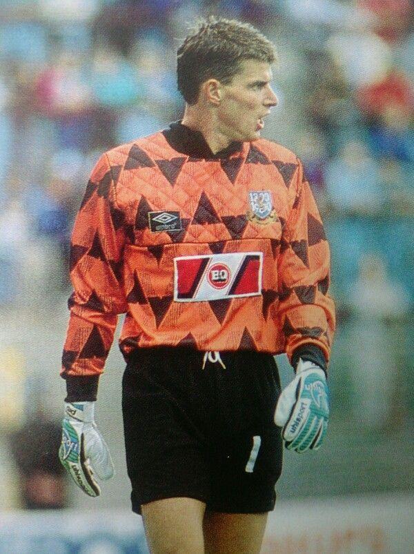 Theo Snelders Aberdeen goalkeeper in 1990.