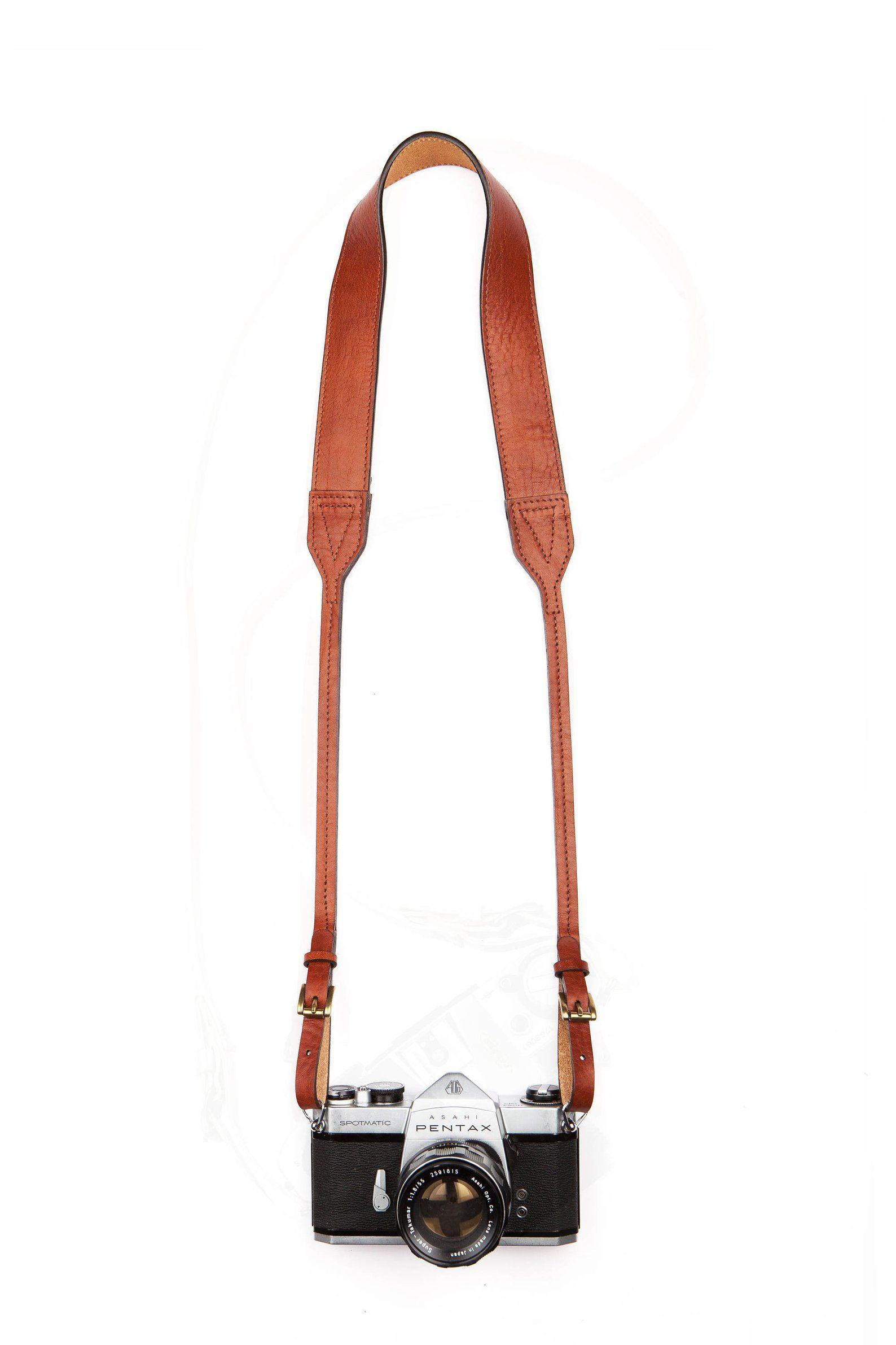 SPOTMATIC Original Leather CAMERA STRAP