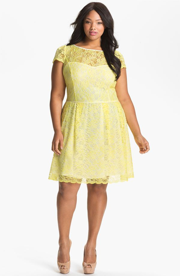 piniful plus-size-lace-dresses-14 #plussizefashion | plus size