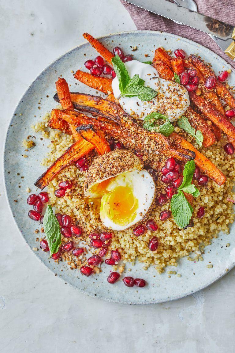 19a25cf14ace Ristede gulerødder med quinoa