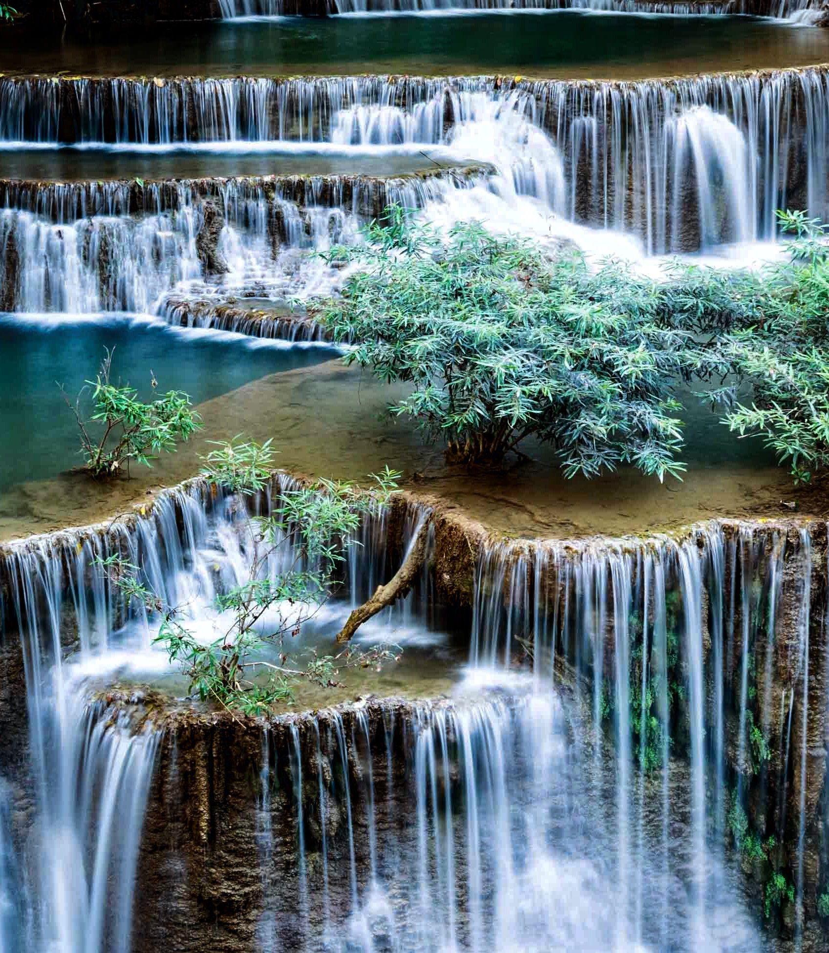 Waterfall Beautiful Nature Waterfall Scenery