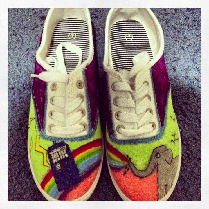 Painted shoes :D