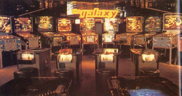 The Galaxy arcade early 80s