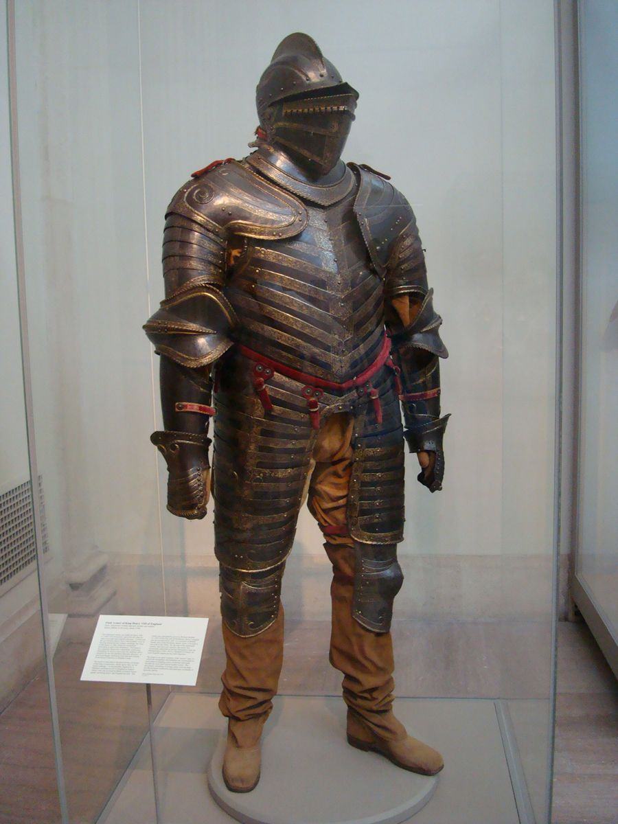 Authentic Medieval Knight's Armour (Metropolitan Museum of ...