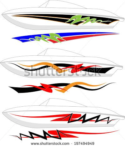 Vehicle Graphics Stock Photos Images Pictures Boat Decals Boat Stickers Car Graphics
