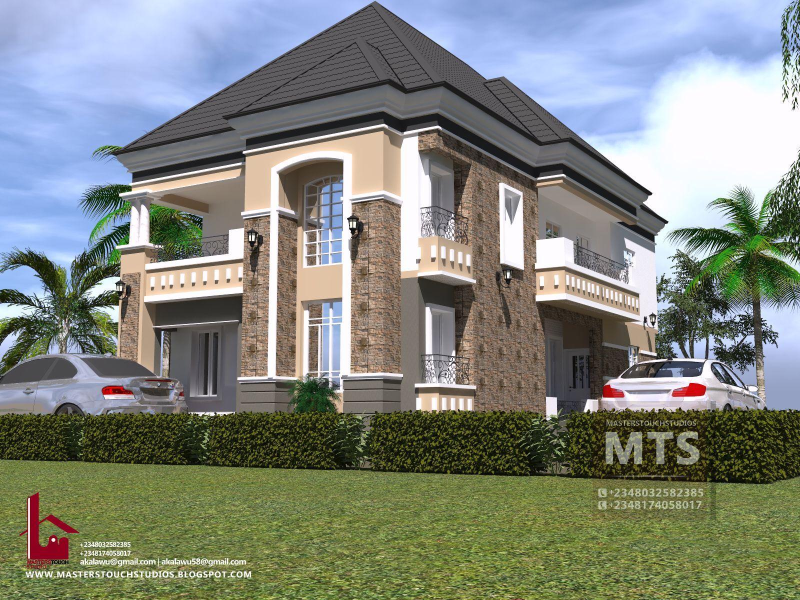 Architecture Interiordesign Duplex Nigeria Floor Plan Home House Architects Masterstouchstudio Duplex Design Duplex Floor Plans Bungalow House Design