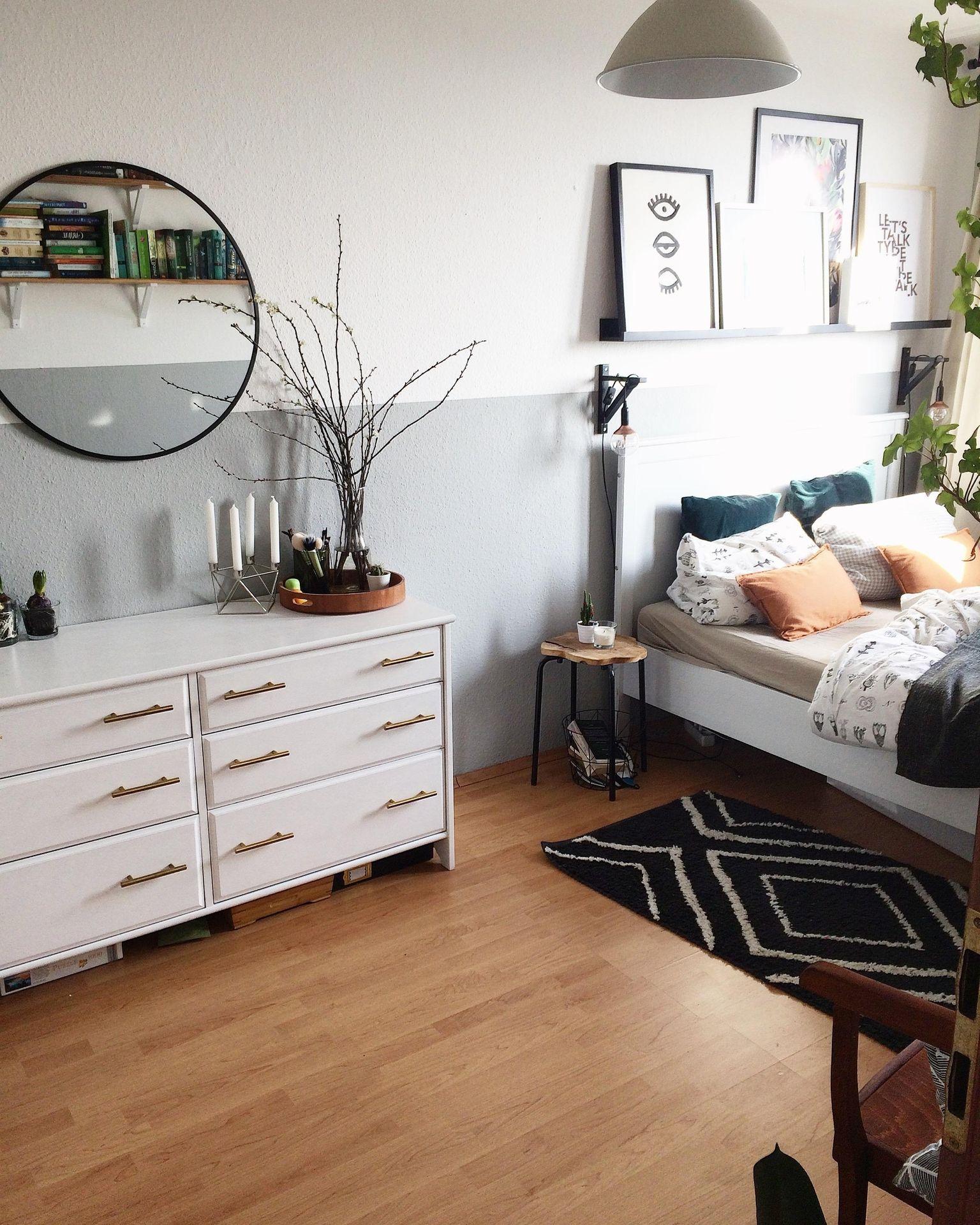 Eine andere Perspektive. #bedroom #schlafzimmer #hal... | Wohnung ...