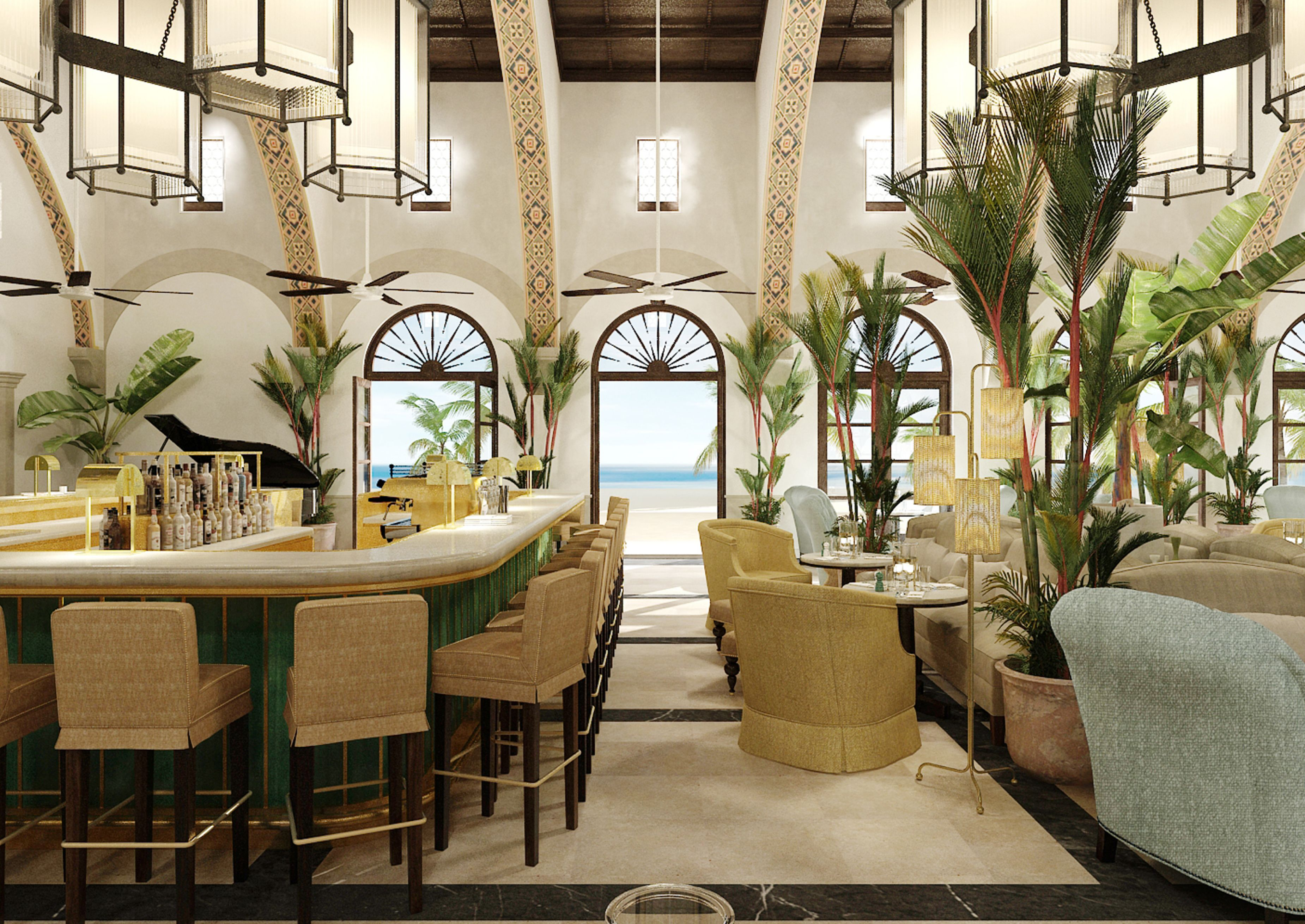 image result for le sirenuse miami bars and restaurants deco rh pinterest fr