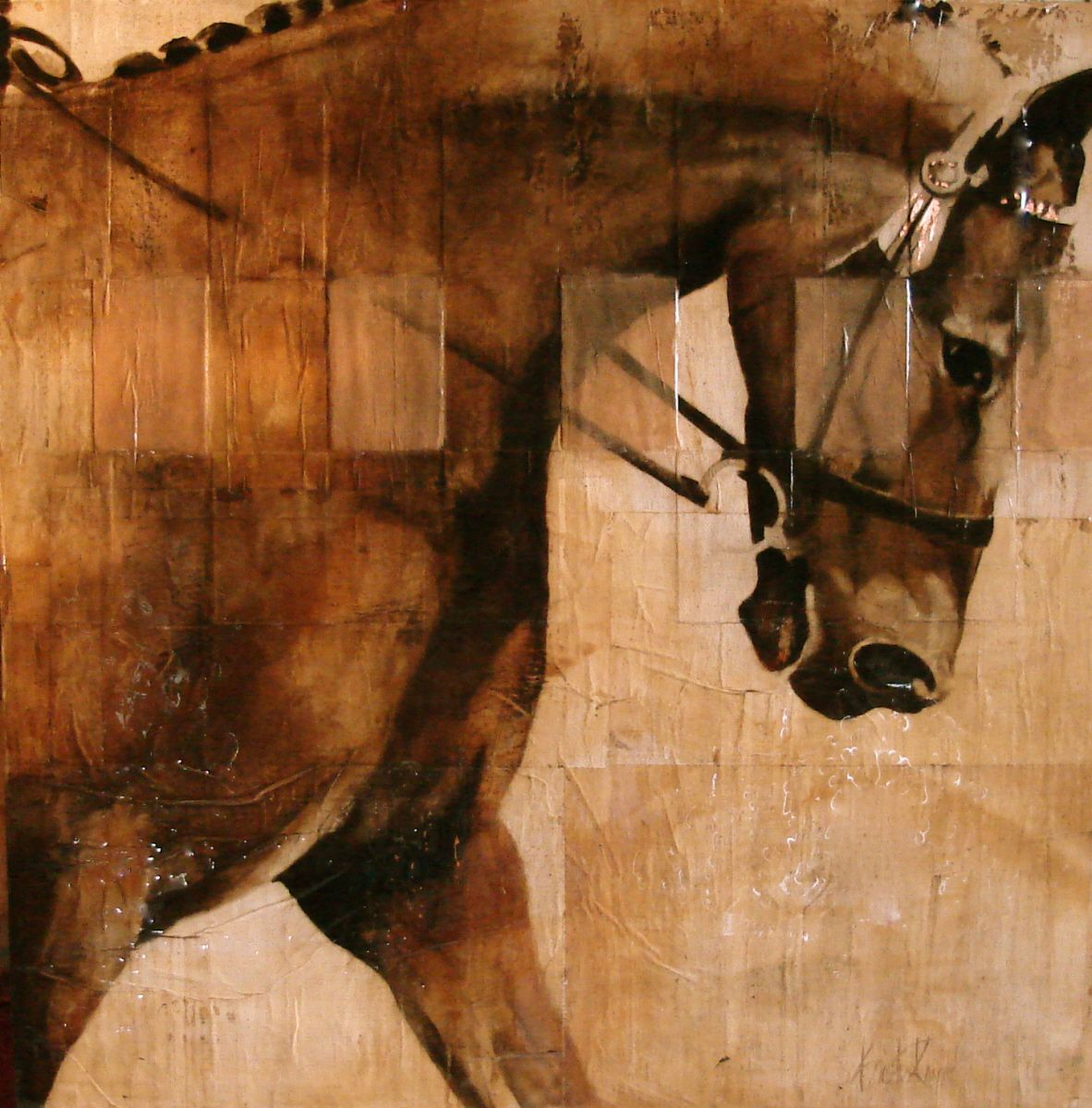 kristin knight studio equine western fine art current works page