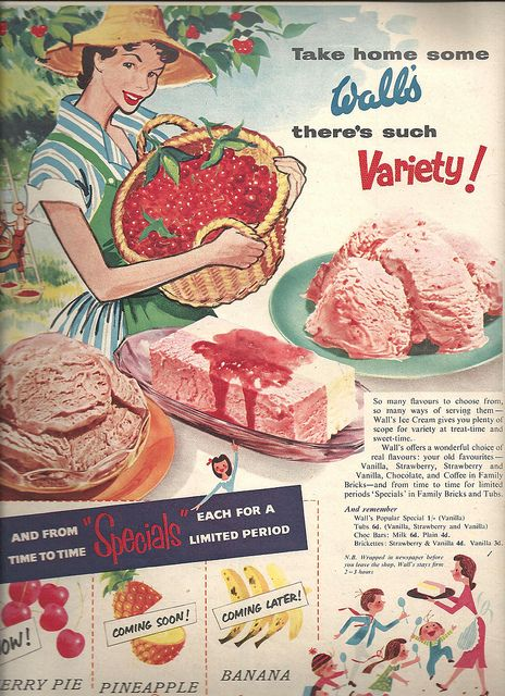 Walls Ice Cream With Images Vintage Ads Vintage Posters