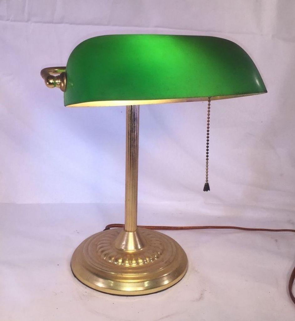 Brass desk lamp with green glass shade best home office desk check brass desk lamp with green glass shade best home office desk check more at http aloadofball Gallery