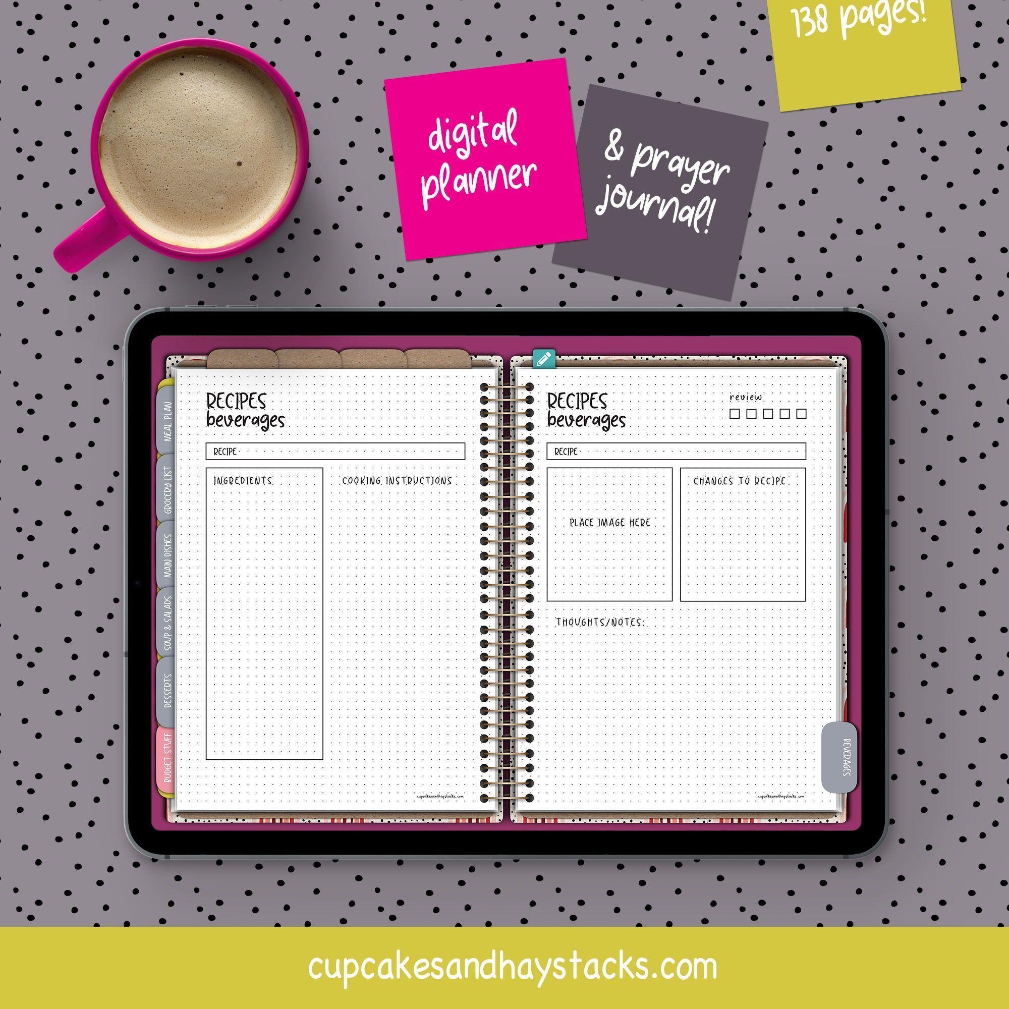 Digital Planner Digital Bullet Journal iPad Planner | Etsy