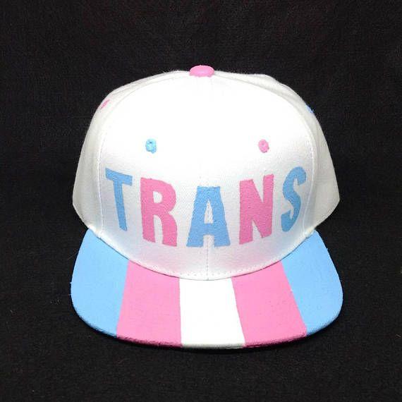 079fa03e132 Transgender Pride Snapback Hat LGBTQ+ Trans Man Trans Woman Trans ...