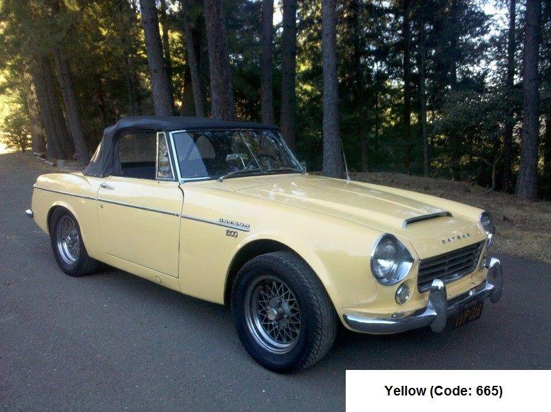 Datsun 2000 Fairlady roadster 1967 Yellow | Datsun/Nissan | Datsun