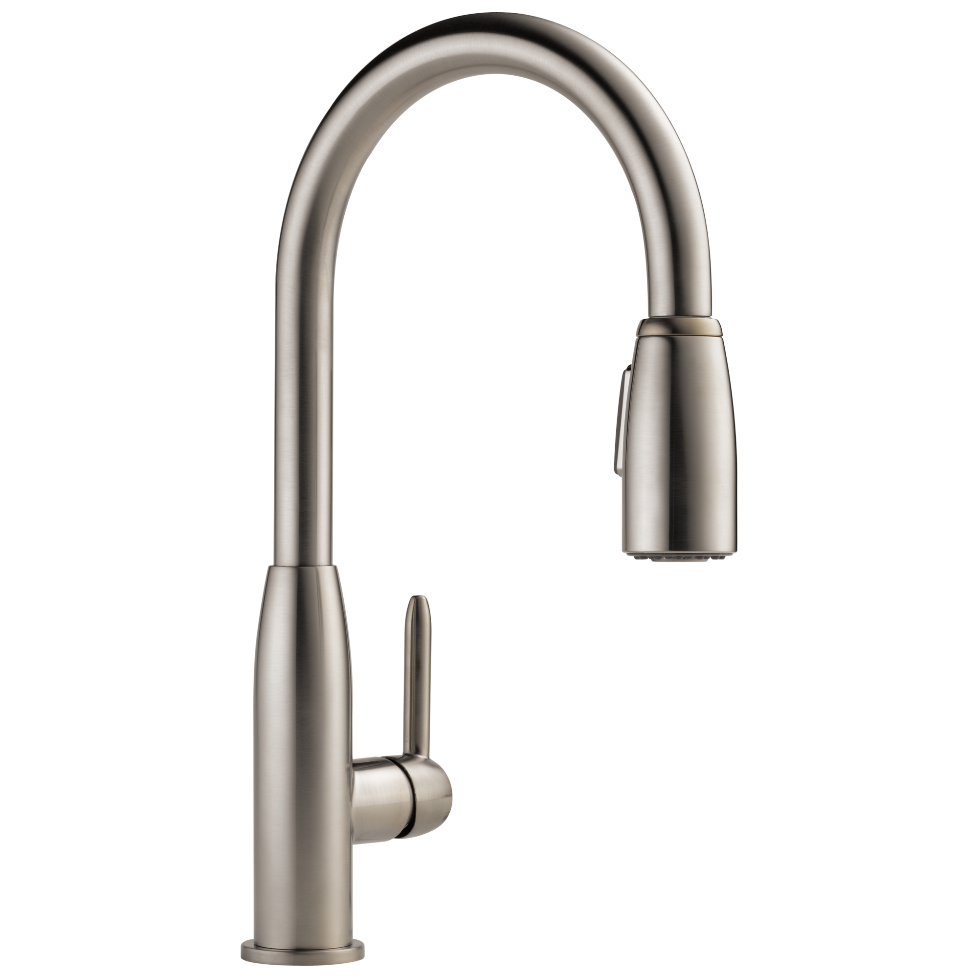 Peerless Faucet P188103lf Ss Single Handle Kitchen Pull Down