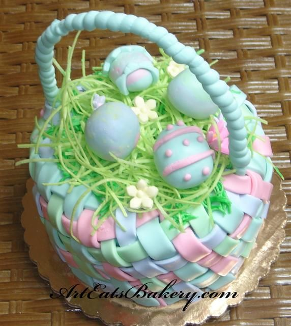 This easter basket is actually cake easter pinterest easter this easter basket is actually cake negle Images