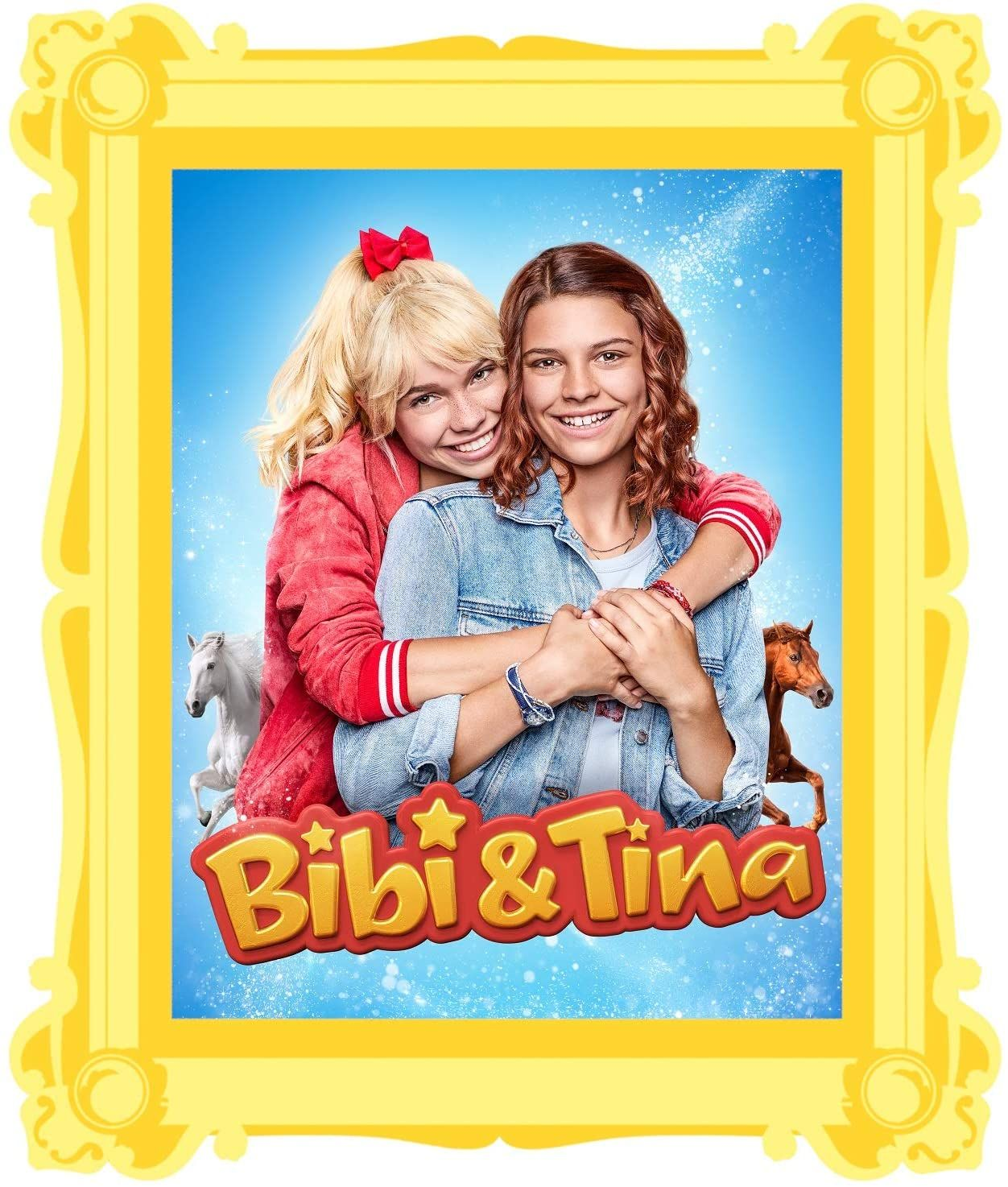 Bibi Tina Serie Wandtattoos Mit Bibi Tina Pferden Bibi Und Tina Wandtattoos Kinder Zimmer