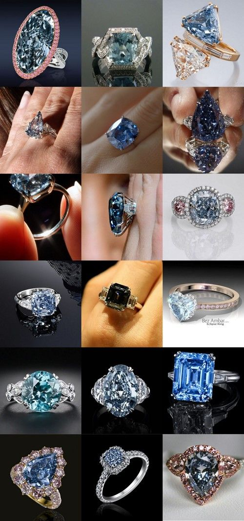 35 Gorgeous Blue Diamonds @styleestate