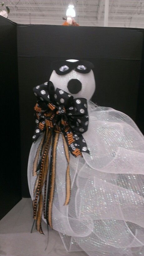 My Mesh Ghost are going fast! Made 3 more todaysold 2 yesterday - michaels halloween decorations