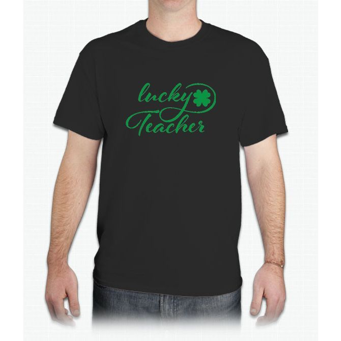 Lucky Teacher St Patrick Day - Mens T-Shirt