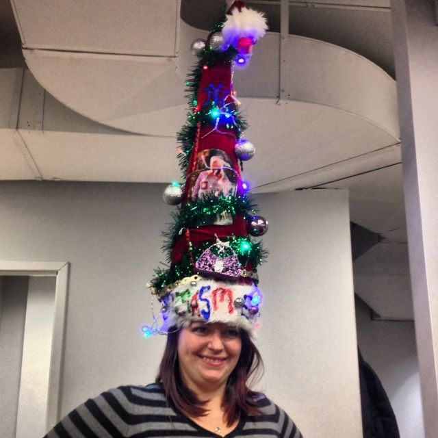 Most creative Christmas hat