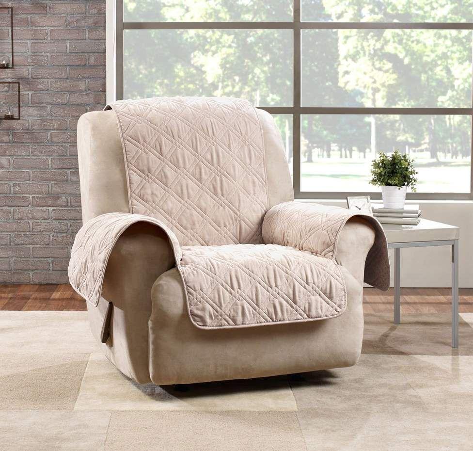 Deluxe non skid waterproof recliner furniture cover