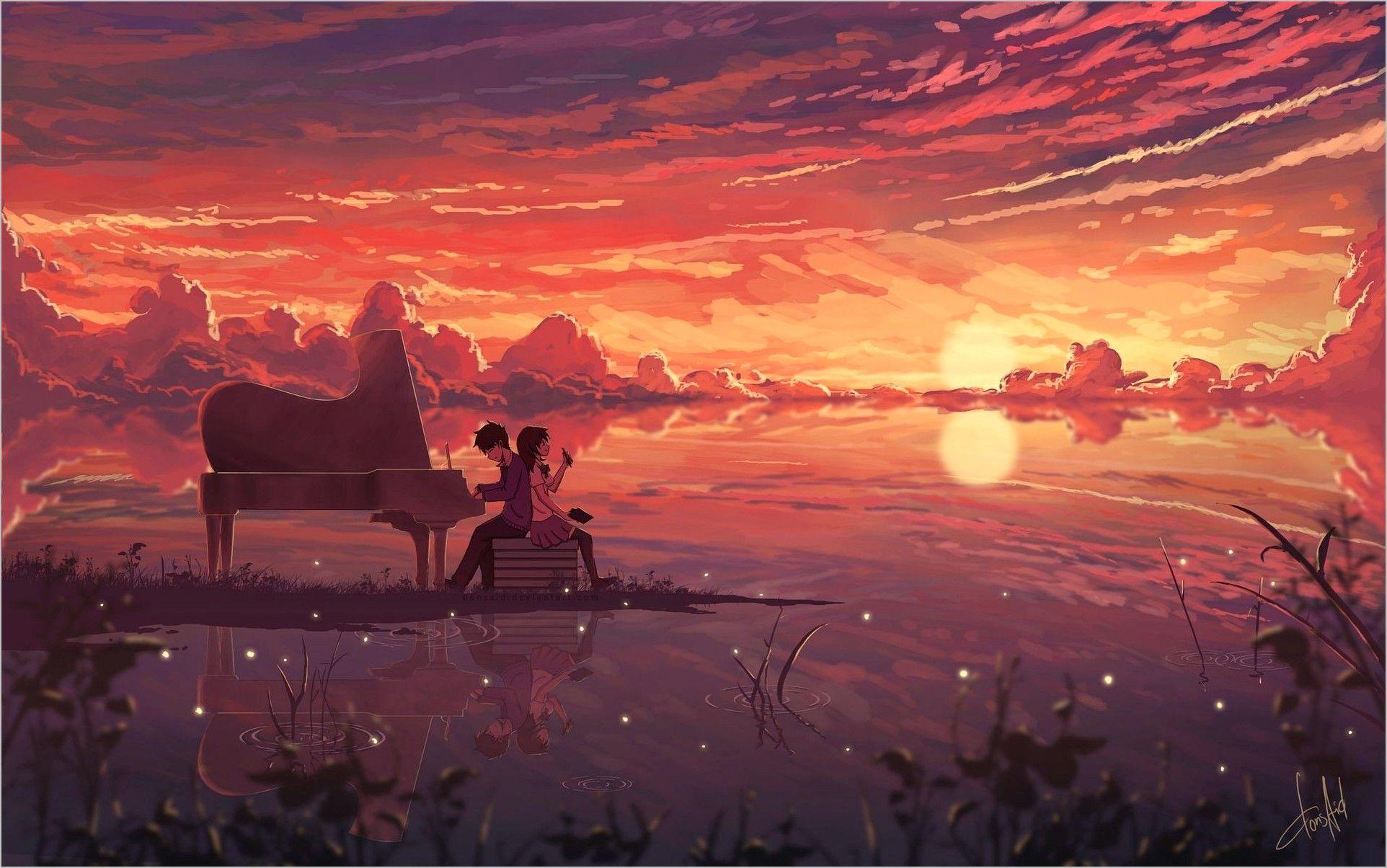 Anime Art Landscape Wallpaper 4k In 2020 Anime Wallpaper Anime Scenery Art Wallpaper