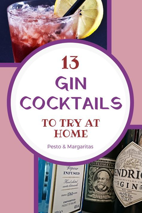 13 Best Gin Cocktails to Explore Your Love of Gin #bestgincocktails