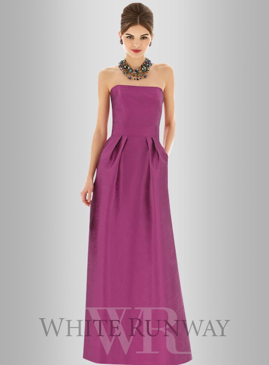 Peta Dress by Alfred Sung A gorgeous full length dress by Dessy ...