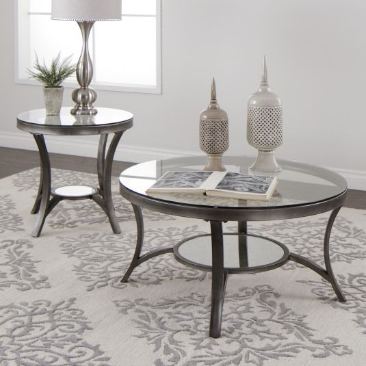 Spare And Elegant The Ellington Accent Table Has Sweeping Lines