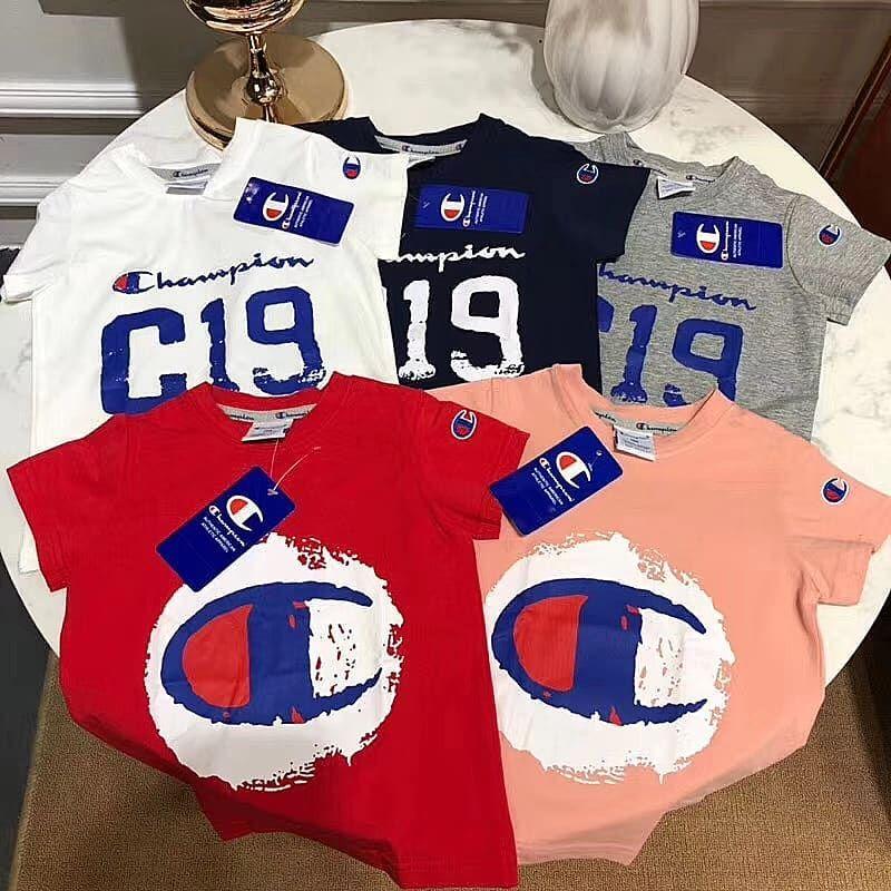 3b4c42f94ba 冠軍#Tee 5色 #Limited Offer 100CM140CM #champion#brand#babyfashion ...